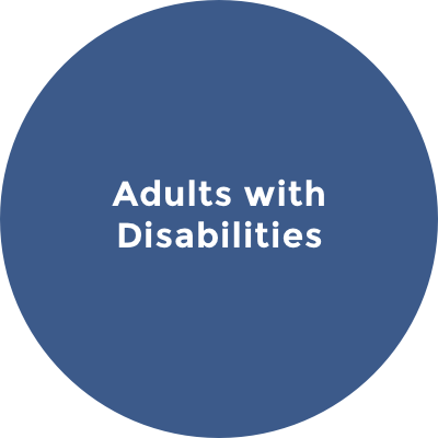 Adults With Disabilities Icon