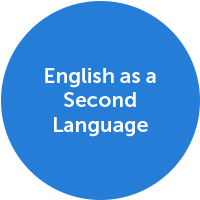English as a Second Language Icon