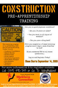 PreApprentice Flyer0920