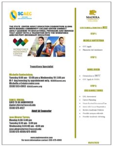 MCC Adult Ed Workflow Flyer 2020 1