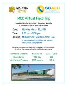 MCC Virtual FT Flyer